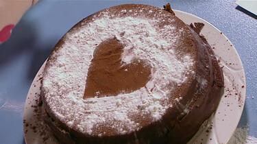 Een wit hartje op de taart!