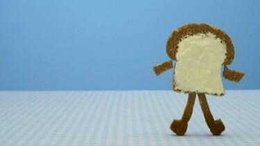 Dansende boterham