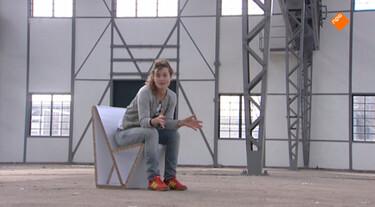 Het Klokhuis: Design, stoel