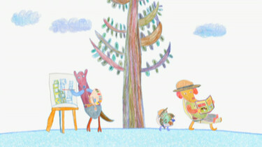 Kangoeroe en kikker: Bij de buren