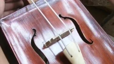 Een Mongoolse viool