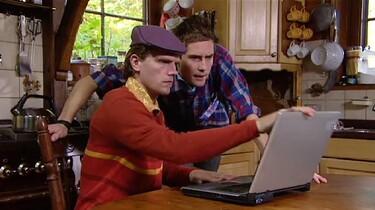 De nieuwe laptop