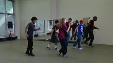 De backslide dansen, hoe gaat dat?