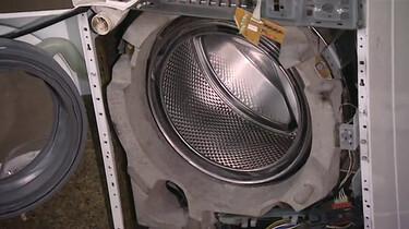 Hoe werkt een wasmachine?
