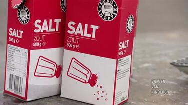 Waarom blijf je op zout water drijven?