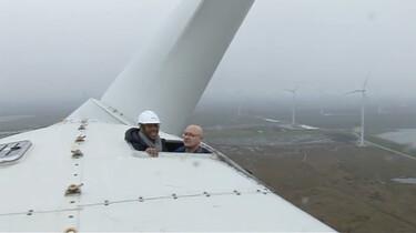 Hoe zitten windmolens in elkaar?