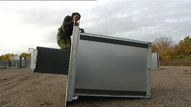 Hoe ziet een ondergrondse afvalcontainer eruit?