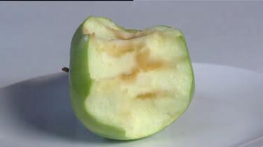 Waarom wordt een appel bruin?
