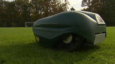Hoe werkt een grasmaaierrobot?
