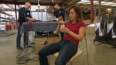 Hoe wordt een stoel gemaakt?