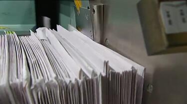Hoe wordt post gesorteerd?