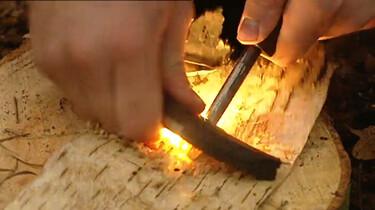 Hoe stook je een vuurtje?