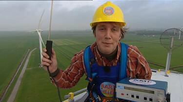 Kun je hoogte meten met wind?