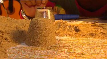 Hoe ontstaat zand?