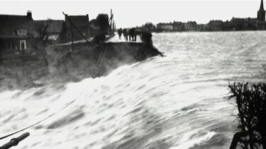 Redders bij de watersnoodramp van 1953