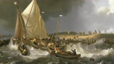 De aanleg van de Afsluitdijk