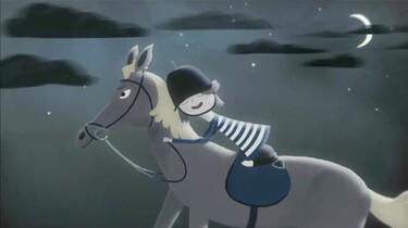 Kate houdt van paardrijden