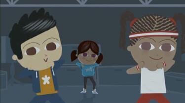 Lisa houdt van streetdance