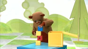 Teddy en de blokken