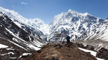 Klimaatonderzoek in Nepal