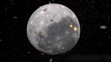 Kraters op de maan: Bekogeld door meteorieten