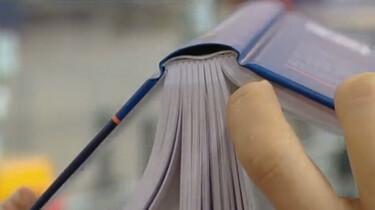 Hoe maak je een gebonden boek?