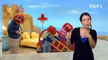 Het Zandkasteel met gebarentolk