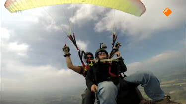 Het Klokhuis: Paragliden