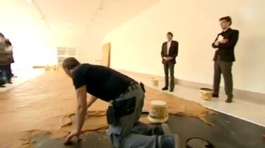 Kun je dansen op een pindakaasvloer?