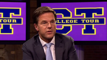 College Tour in de klas: Mark Rutte