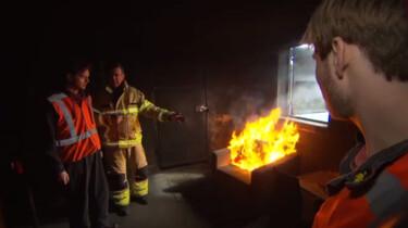 Wat moet je doen bij brand in huis?