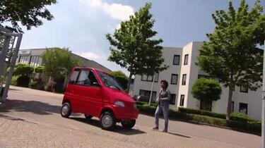 Hoe wordt een gehandicaptenvoertuig gemaakt?: Een klein autootje met alles erop en eraan