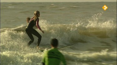 Het Klokhuis: Golfsurfen