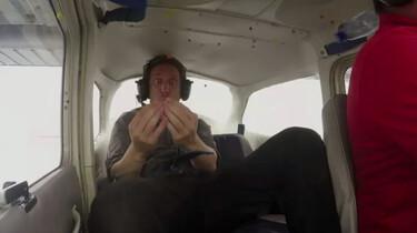 Zweven tijdens een paraboolvlucht