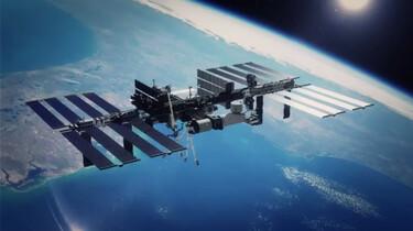 De aarde vanuit het ISS
