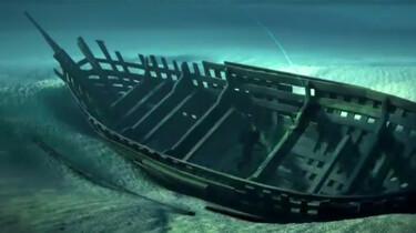 Een koggeschip in de IJssel