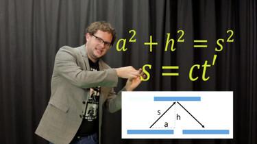 De speciale relativiteitstheorie van Einstein