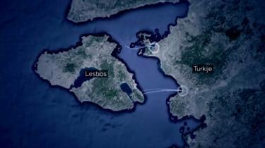 De route van een vluchteling uit Syrië