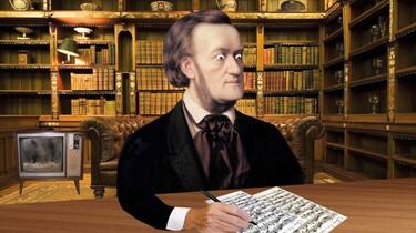De Duitse componist Richard Wagner