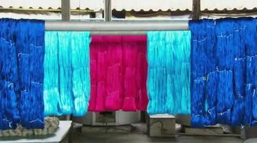 Hoe wordt zijde gemaakt?