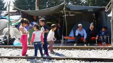 Leven in het vluchtelingenkamp Idomeni