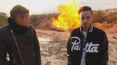 Proefkonijnen in de klas: Hoe snel ontploft een auto?
