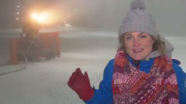 Hoe laat je het binnen sneeuwen?