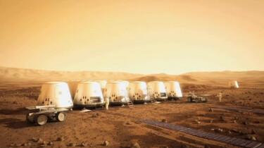 Mensen naar Mars