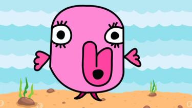 The colour pink: Een animatie over de kleur roze in het Engels