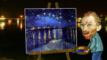 Maak je eigen sterrenhemel van Vincent van Gogh
