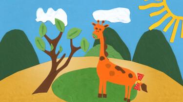 Verlegen giraf