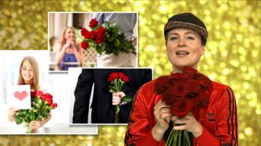 Wat hebben rode rozen met liefde te maken?