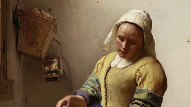 Topstukken van het Rijksmuseum: Het melkmeisje van Johannes Vermeer