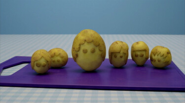 Aardappelmannetjes
